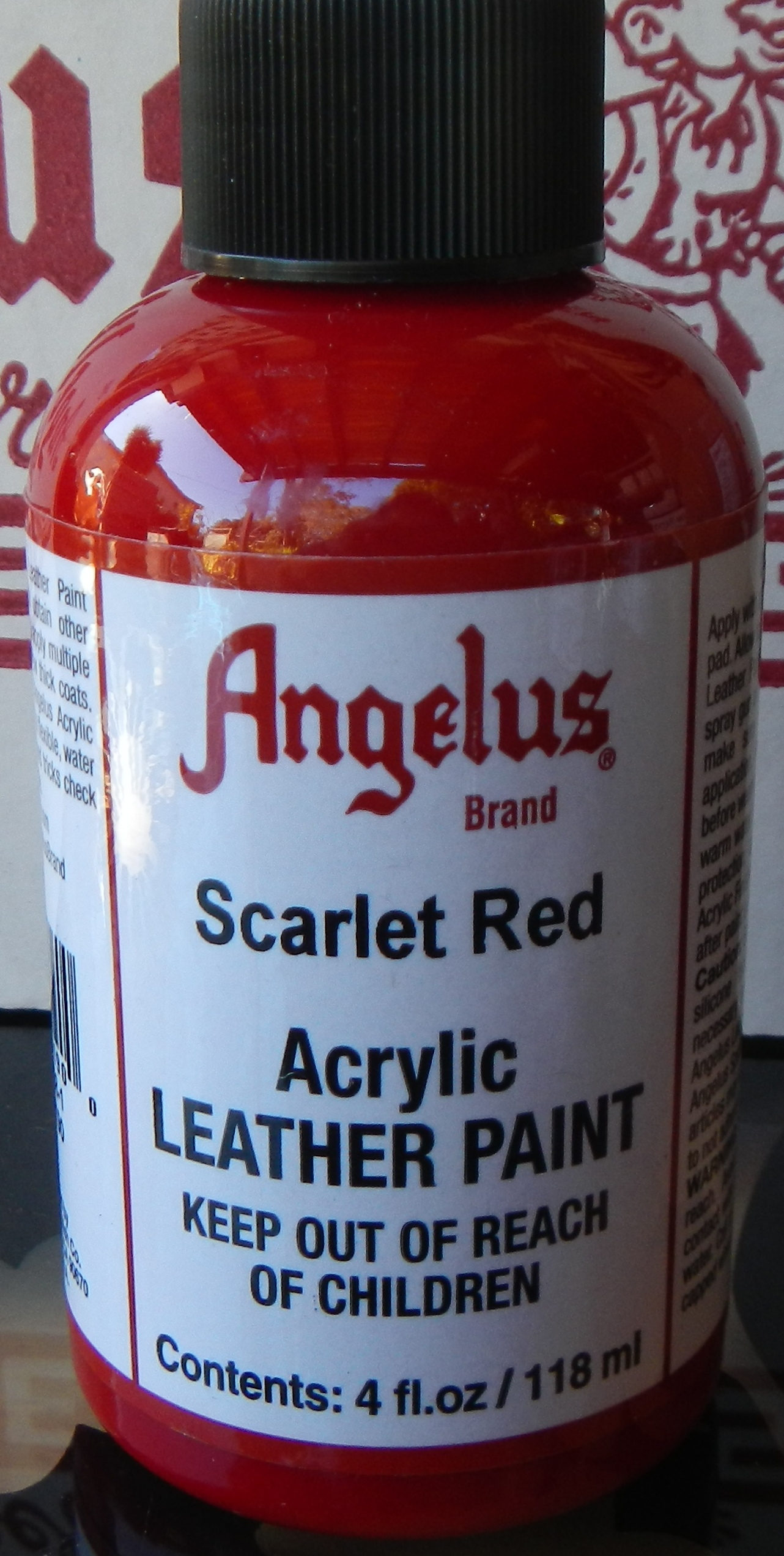 Quot Leather Paint Shoe Paint Angelus 2 Thin Angelus Preparer