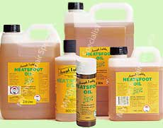 Neatsfoot Oil-repels water for saddles