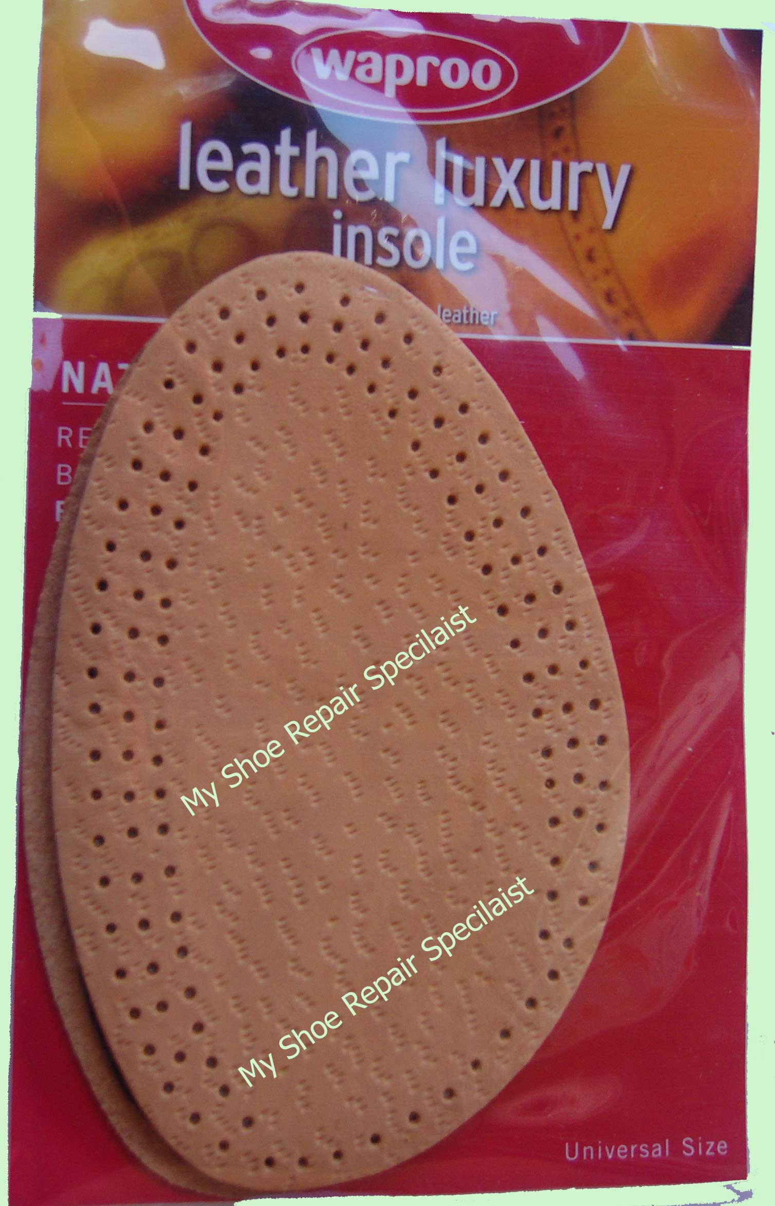 Leather Deluxe Insoles