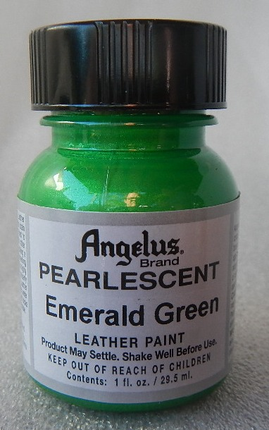 Emerald Green pearlescent paint