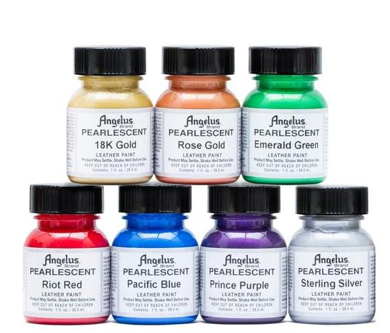Pearlescent Acrylic Paints