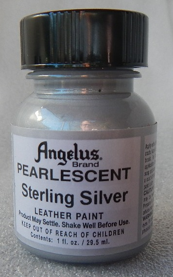 Sterling Silver pearlescent paint