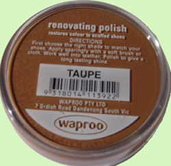 Taupe Renovating Polish