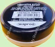 Waproo French Navy Shoe Polish