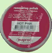 Waproo Shoe Polish Hot Pink