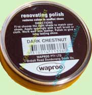 Waproo Dark Chestnut Shoe Polish