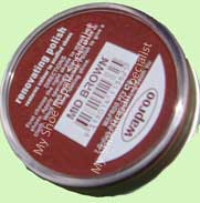 Mid Brown Shoe Polish Waproo