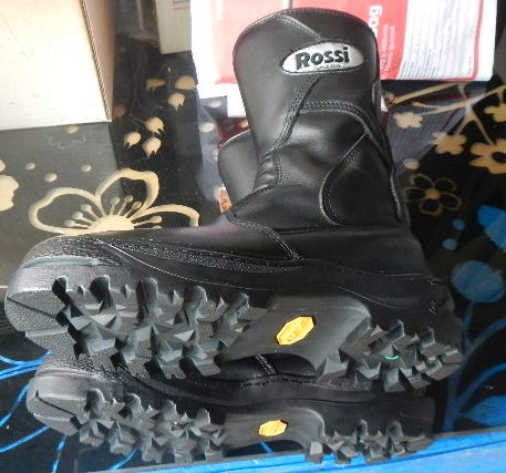 Rossi boots with Vibram Clusaz