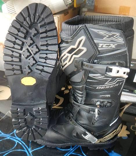 Motorbike Boots Sidi Gaerne Alpinestars Tcx X Desert Rossi