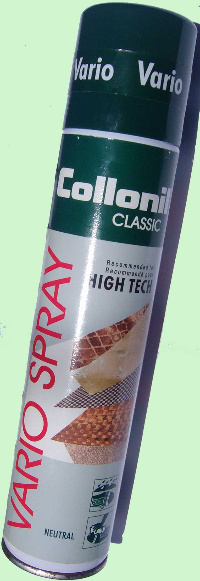 Waterproofing Spray for leathers and textiles
