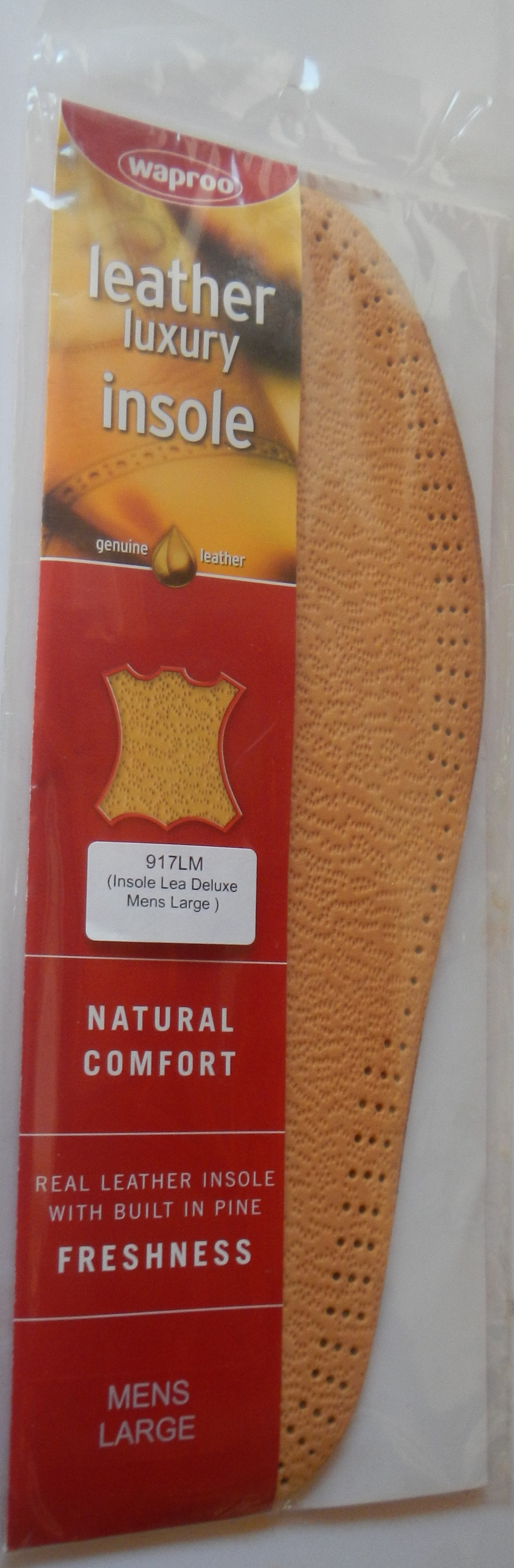 Leather Full Insole Waproo