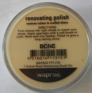 Bone Shoe Polish Waproo Shoe Polish Waproo Boot Polish Waproo Renovating Polish Waproo Polish Shoe Cream