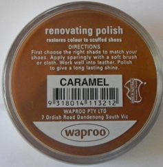 Caramel Shoe Polish Caramel Boot Polish