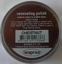 Chestnut Shoe Polish Chestnut Boot Polish