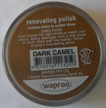 Dark Camel Shoe Polish Dark Camel Boot Polish