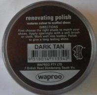 Dark Tan Shoe Polish Dark Tan Boot Polish