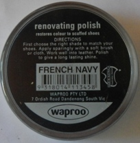 French Navy Shoe Polish French Navy Boot Polish
