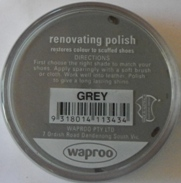 Grey Shoe Polish Grey Boot Polish