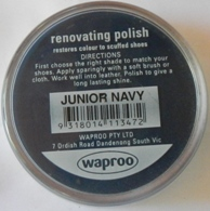 Junior Navy Shoe Polish Junior Navy Boot Polish