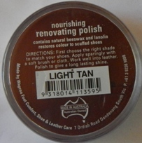 Light Tan Shoe Polish Light Tan Boot Polish Hand Bag Polish