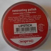 Lipstick Shoe Polish Lipstick Boot Polish Hand Bag Polish