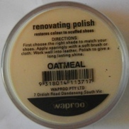 Oatmeal Shoe Polish Oatmeal Boot Polish Hand Bag Polish