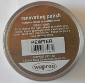 Pewter Shoe Polish Pewter Boot Polish Hand Bag Polish