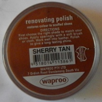 Sherry Tan Shoe Polish Sherry Tan Boot Polish Hand Bag Polish