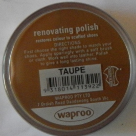 Taupe Shoe Polish Taupe Boot Polish Hand Bag Polish