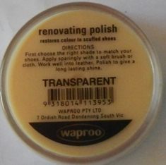 Transparent Shoe Polish Transparent Boot Polish Hand Bag Polish