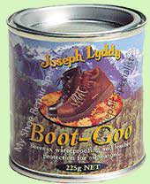 Boot Goo natural waterprofing