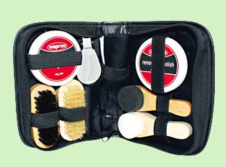 shoe care kit deluxe
