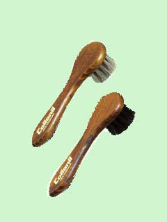 shoe cream application brush