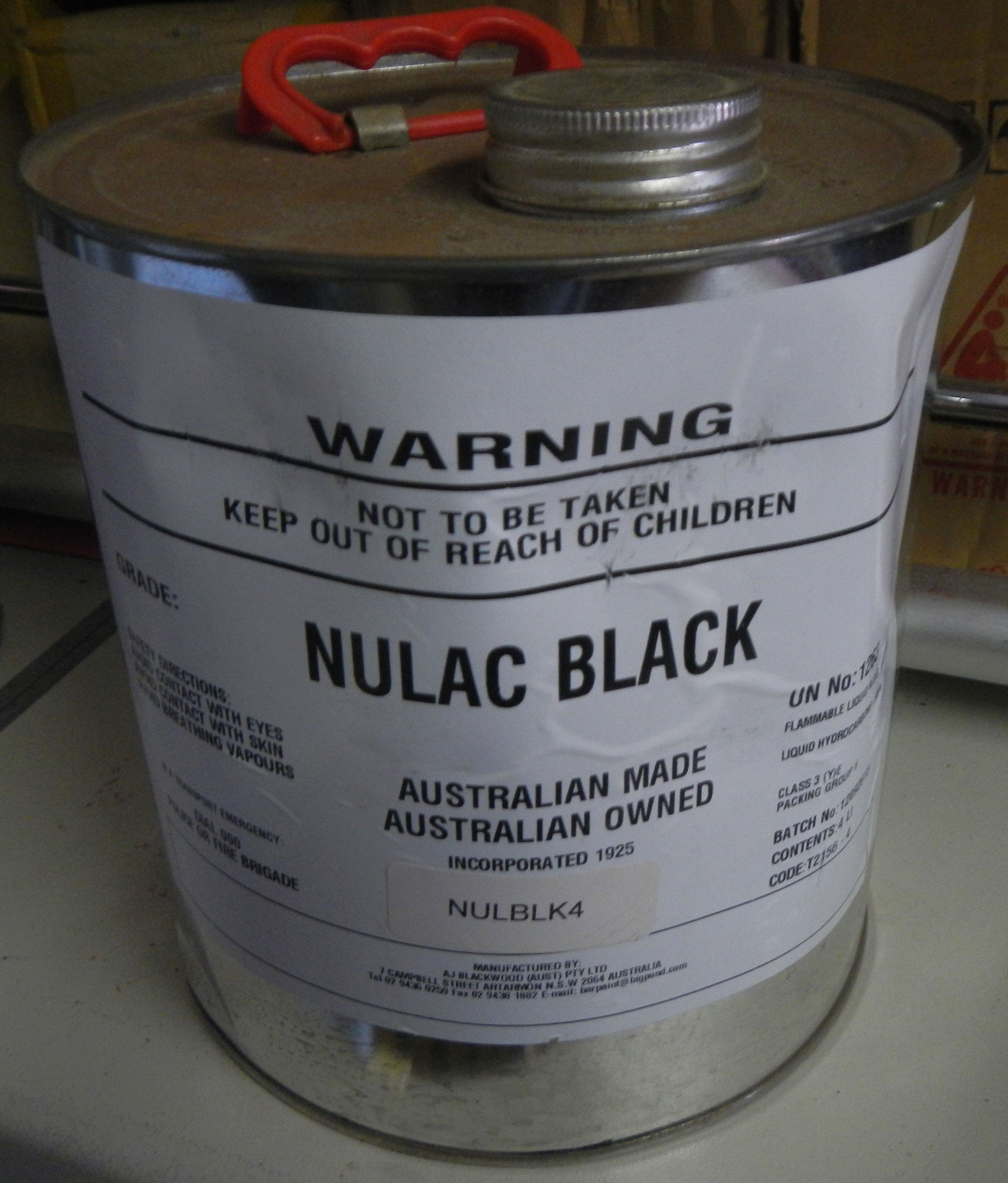 Nulac paint