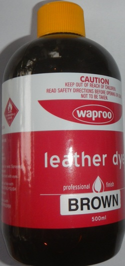 519bd8e1f517 ... Waproo Leather Dye Brown Waproo Leather Dye Leather Dye for handbags